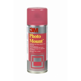 Colle aérosol permanente Photo Mount (rouge) 400ml