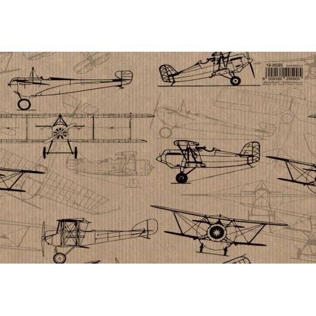 Papier imprimé Avion