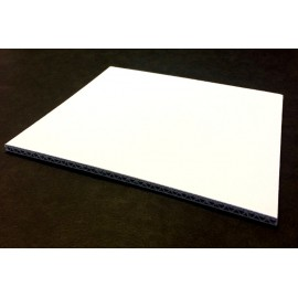 Carton Ondulé Double Cannelure Blanc 4.5 mm 50x65 cm (par 25)