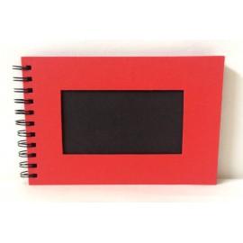 Album Photo 15x20 cm Rouge intérieur Noir