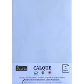Pochette de 10 Feuilles A4 de Calque Cromatico Extra Blanc