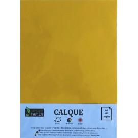 Pochette de 10 feuilles A4 de Calque Cromatico Jaune