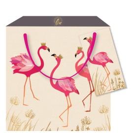 Sac Cadeaux Flamingo M