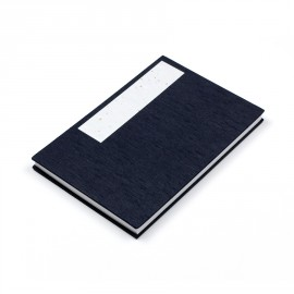 Carnet Japonais Accordéon Bleu marine