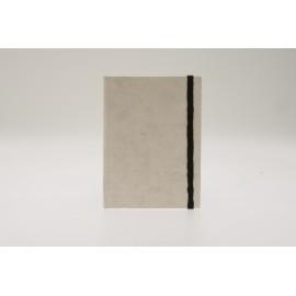 Book 14x20 blanc avec élastique