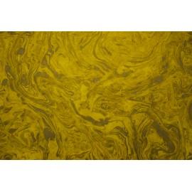Lokta jaune marbré or