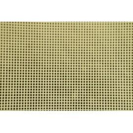 Papier fait main Ivoire/Feuille d'Or motif petit carré