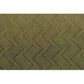 Papier fait main Ivoire/Feuille d'Or motif Halucination