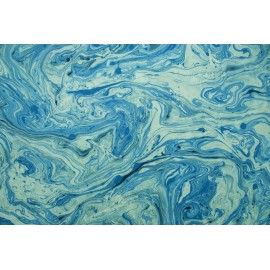 Lokta marbré bleu