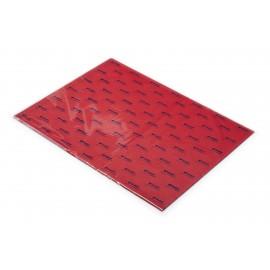 Papier de soie Rouge (x25)