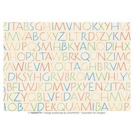 Alphabet polychrome