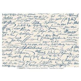 Papier imprimé Signatures 50x70cm