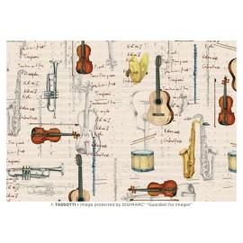 Papier imprimé Partitions et Instruments