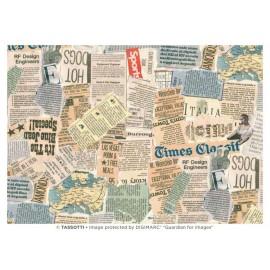Papier imprimé Journal 50x70cm
