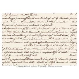 Papier imprimé Ecriture 50x70cm