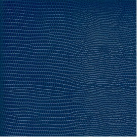 Papier cuir lézard marine 68,5x100 cm