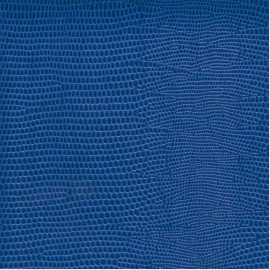 Papier cuir lézard bleu 68,5x50 cm