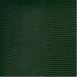 Papier cuir lézard vert foncé 68,5x50 cm