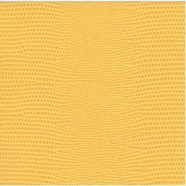 Papier cuir lézard jaune 68,5x50 cm