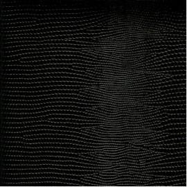 Papier cuir lézard noir 68,5x50 cm