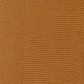 Papier cuir lézard caramel 68.5x100cm