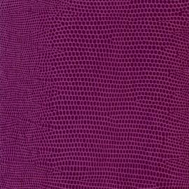 Papier cuir lézard mauve 68.5x100 cm