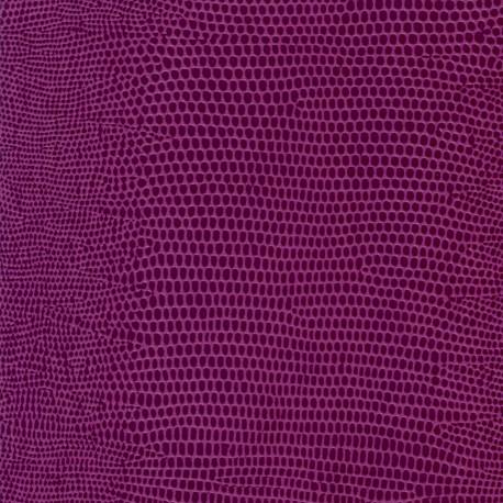 Papier cuir lézard mauve 68.5x50 cm