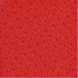 Papier cuir ostra rouge 68,5x100 cm