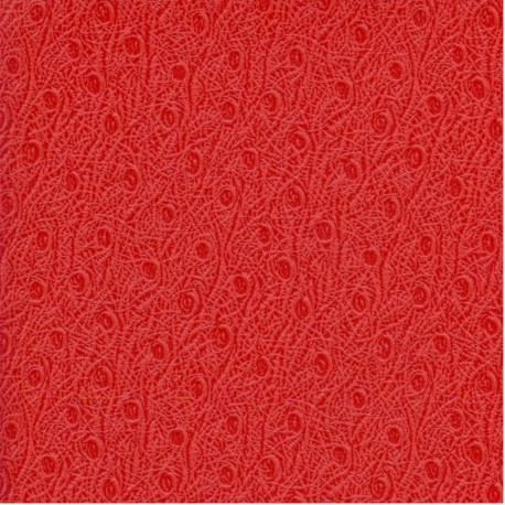 Papier cuir ostra rouge 68,5x50 cm