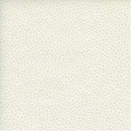 Papier Cuir Mallory blanc 68,5x100 cm