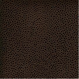 Papier Cuir Mallory marron 68,5x50 cm