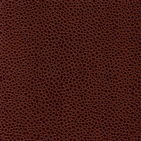 Papier cuir mallory marron clair cm esprit papier for Papier peint cuir marron