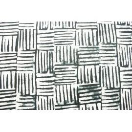 Batik Nepal Griffes Black & White