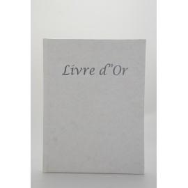 Livre d'or 30x40 Blanc