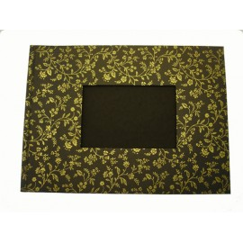Album photo 24x33 Bronze fleurs or