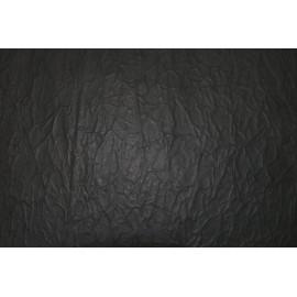 Lokta froissé collé noir