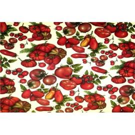 Papier imprimé Tomates 50x70cm