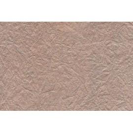 Papier indien froissé métal. Or rose