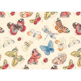 Papier imprimé Papillons