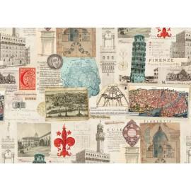 Papier imprimé Toscane Ancienne