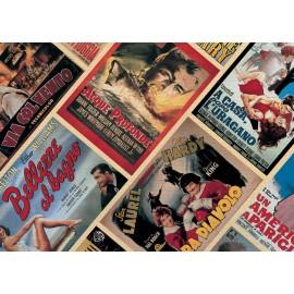 Papier imprimé affiche de cinéma 50x70cm