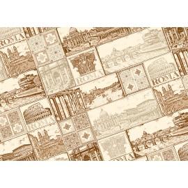 Papier imprimé Rome
